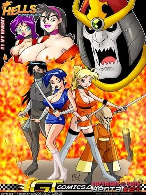 Porn Comics - Hentai Key- Hells Ninja  (Hentai Manga)