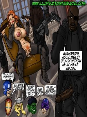 illustrated interracial- Parodies Interracial Comics