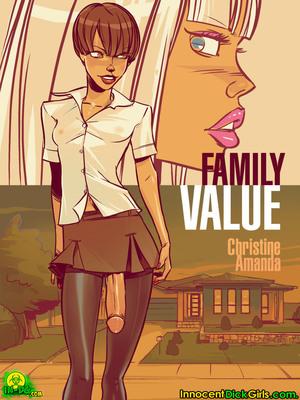 Porn Comics - InnocentDickgirls- Family Value  (Porncomics)