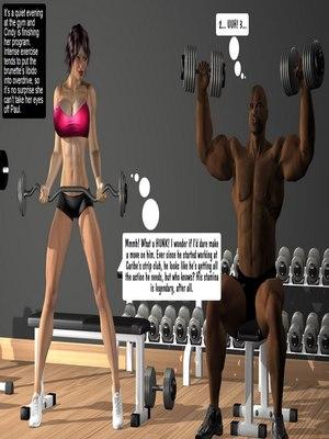 Porn Comics - Interracial3D- Huge Tits-Paul Dancing  (Interracial Comics)
