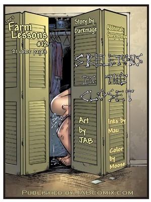 Porn Comics - Jab Comix – Farm Lessons 12  (Jab Comix)