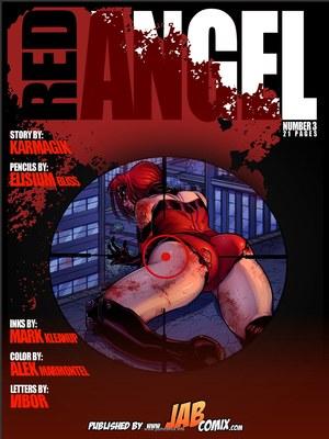 Jab Comix- Red Angel 3  (Jab Comix)