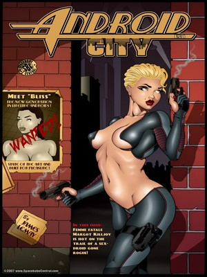 Porn Comics - James Lemay- Android City  (Adult Comics)