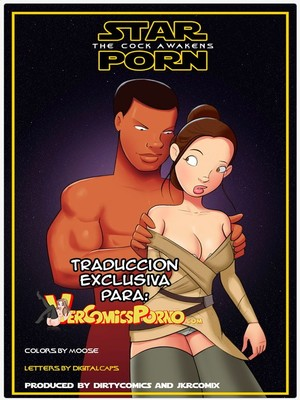 JKR- Star Porn- The Cock Awakens (Star Wars) Adult Comics
