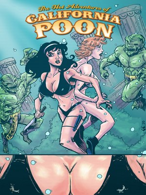 Porn Comics - JKRComix- California Poon 1-Going Down In Atlantis  (Adult Comics)