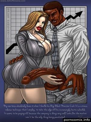 JOHN PERSONS – PLEASURE KNIGHT – PIT PINUPS  (Interracial Comics)
