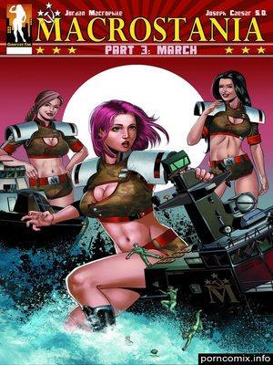 Porn Comics - Jordan Macrophileu00a0 Macrostania- 03  (Porncomics)