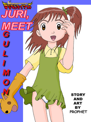 Porn Comics - Juri, Meet Guilmon (Digimon) Adult Comics