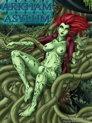 Porn Comics - Justice Hentai- Arkham Asylum  (Porncomics)