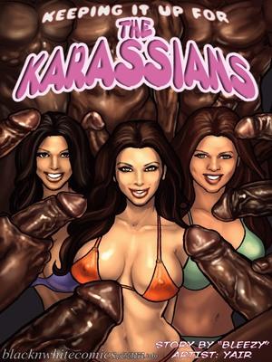 Porn Comics - Keeping It Up for the KarASSians- BNW  (Interracial Comics)