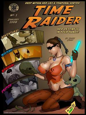 Lara Craft- The Time Raider,James Lemay Adult Comics