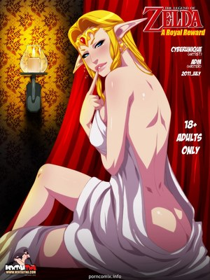 Porn Comics - Legend of Zelda- A Royal Reward Hentai Manga