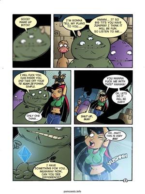 Life and Times of Juniper Lee- Rape Juniper Adult Comics