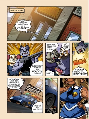 Linno- Dixie Bank Furry Comics