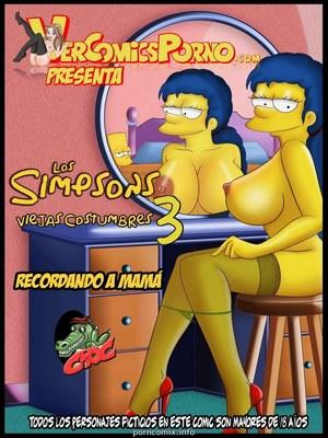 Porn Comics - Los Simpsons 3- Old Habits  Comics
