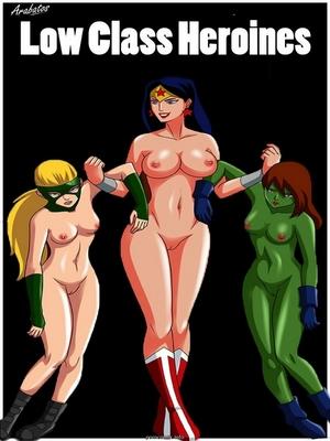 Porn Comics - Low class heroines- Arabatos Adult Comics