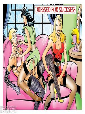 Porn Comics - Lustomic-Dressed For Sucksess  (Porncomics)