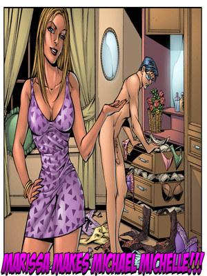 Porn Comics - Lustomic-Marissa Makes Michael Michelle  (Porncomics)