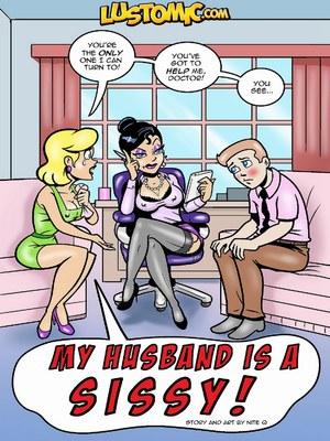 Porn Comics - Lustomic- My Husband is a Sissy  (Adult Comics)