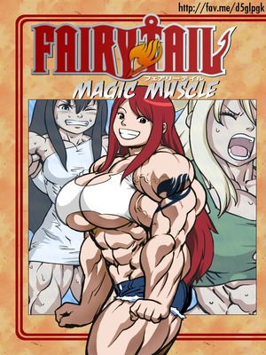 Magic Muscle (Fairy Tail) Hentai-Manga