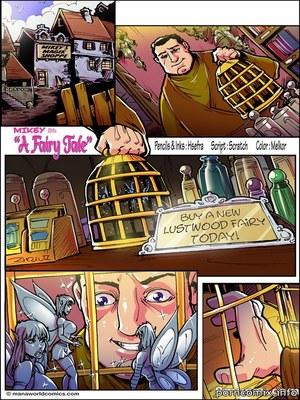 Porn Comics - Mana World- Fairy Tale  (Porncomics)