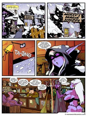 Porn Comics - ManaWorld- Mickey`s Magic Shoppe-2  (Adult Comics)