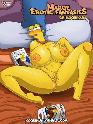 Porn Comics - Marge's Erotic Fantasies-Simpsons Adult Comics