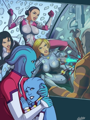 Porn Comics - Mass Effect- Fucking Attack [Arabatos] Adult Comics