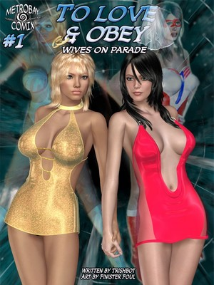 MetroBay3D- To Love & Obey 1-7  (3D Porn Comics)
