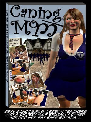 Porn Comics - Milf3D- Caning Mom  (3D Porn Comics)