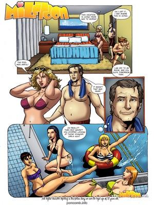Porn Comics - Milftoon- Hotel 4  (Milftoon Comics)