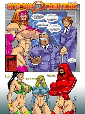 Porn Comics - MonsterBabeCentral- Omega Fighters 11-12  (Porncomics)