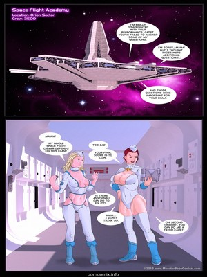 Porn Comics - MonsterBabeCentral- Space Fight Academy  (Porncomics)