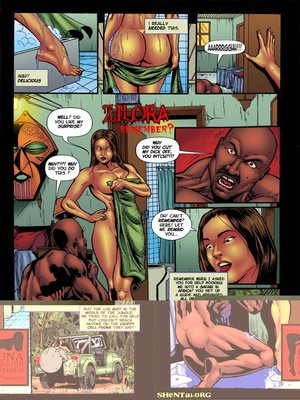 Porn Comics - MonsterBabeCentral- Zilora in Remember  (Porncomics)