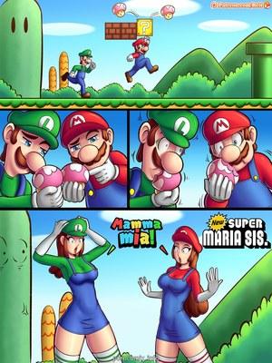 New Super Maria Sis. Adult Comics