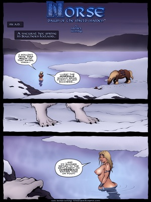 Porn Comics - Norse- Dawn of The Shield Maiden,James Lemay Porncomics