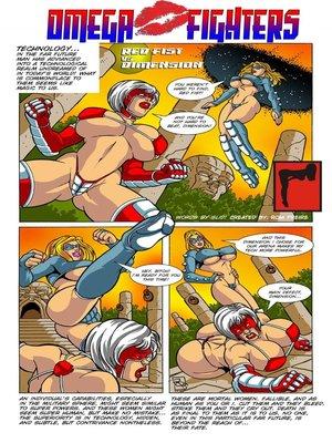 Porn Comics - Omega Fighters 1-2  (Porncomics)