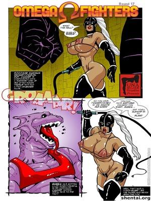 Porn Comics - Omega Fighters 17-18  (Porncomics)