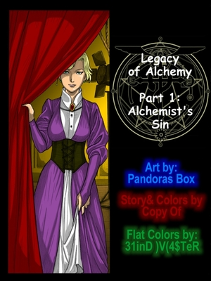 Pandora Box- Legacy of Alchemy Incest Comics