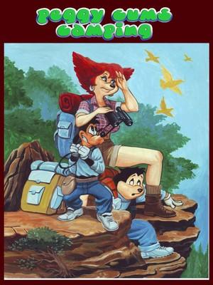 PBX- Goof Troop Peggy Cums Camping  ( Comics)