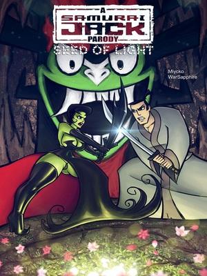 Seed Of Light- Samurai Jack Parody Adult Comics