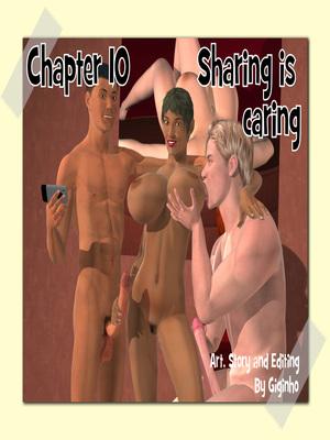 Porn Comics - Sharing is Caring- Giginho 10 3D Porn Comics