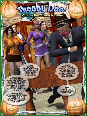 Porn Comics - Shooby Doo-Case of the Goulish Gambler  (3D Porn Comics)