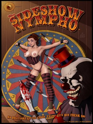 Porn Comics - Sideshow Nympho 1 & 3- James Lemay Adult Comics