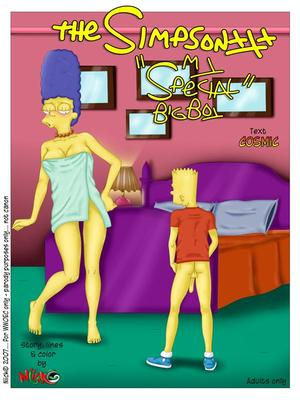 Porn Comics - Simpsons- My Special Boy Becuming A Man  (Porncomics)