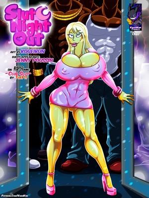 Porn Comics - Slut Night Out – Simpsons [Kogeikun] Adult Comics