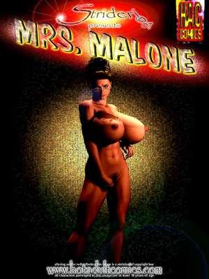 Son's Big Fucking Dick- Mrs. Malone 2 3D Porn Comics
