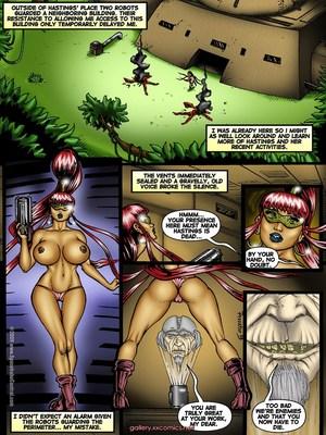 Porn Comics - SpaceBabeCentral- Alien Hunters  (Porncomics)