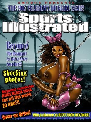 Porn Comics - Spurts Illustrated- World of Smudge Interracial Comics