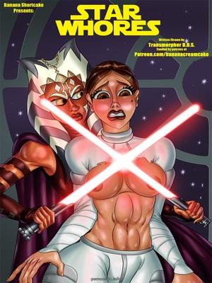 Porn Comics - Star Whores (Star Wars) Porncomics